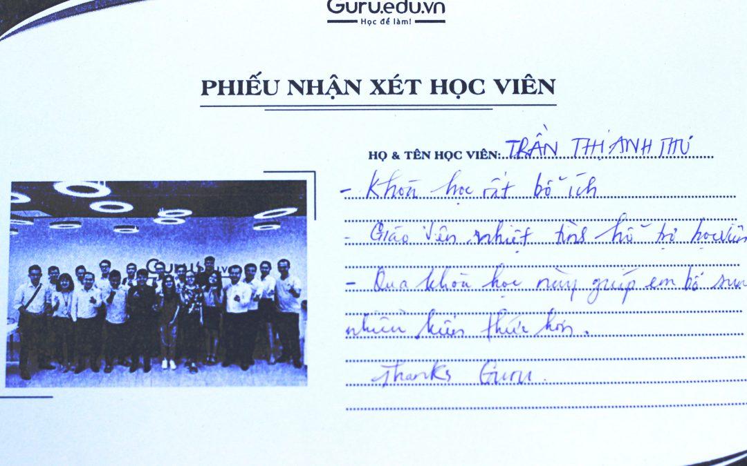 Trần Thị Anh Thư – Sinh viên trường Đại học Mở TPHCM