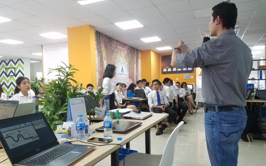 Training Google Ads tại đơn vị Đất Xanh Premium