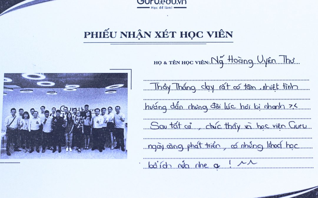 Nguyễn Hoàng Uyên Thư – Sinh viên trường Đại học Kinh tế TPHCM