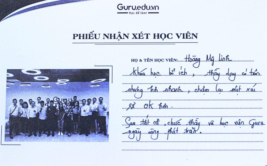 Hoàng Mỹ Linh – Sinh viên trường Đại học Khoa học – Tự nhiên TPHCM