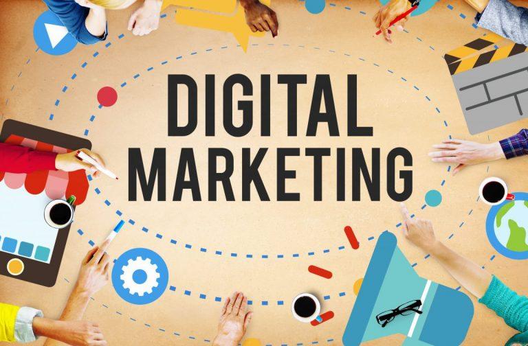 Kế hoạch nằm trọn trong lòng bàn tay với tài liệu mindmap Digital Marketing Plan