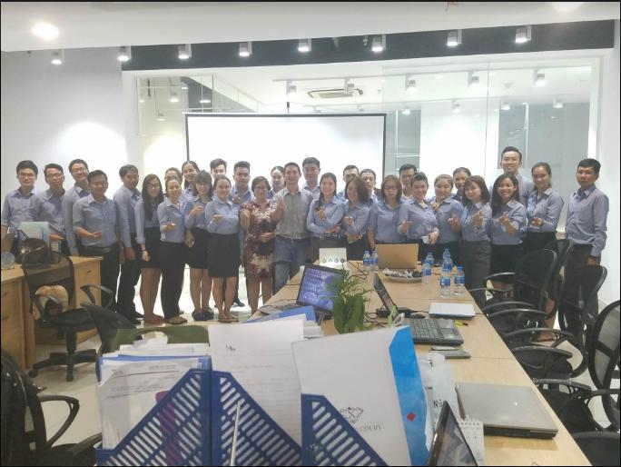 Training Google Ads tại đơn vị BĐS Phú Sơn Thuận