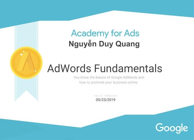 Nguyễn Duy Quang – Sinh viên Trường đại học Khoa Học Xã Hội Và Nhân Văn