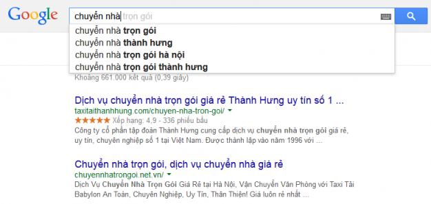 cách sử dụng Google Suggest