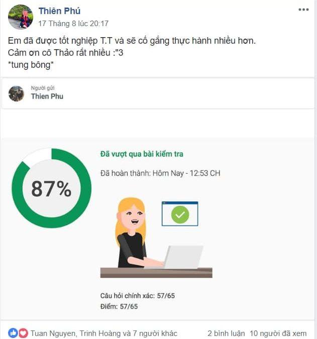 Phạm Hữu Thiên Phú – Sinh viên trường Đại Học Tài Chính Marketing