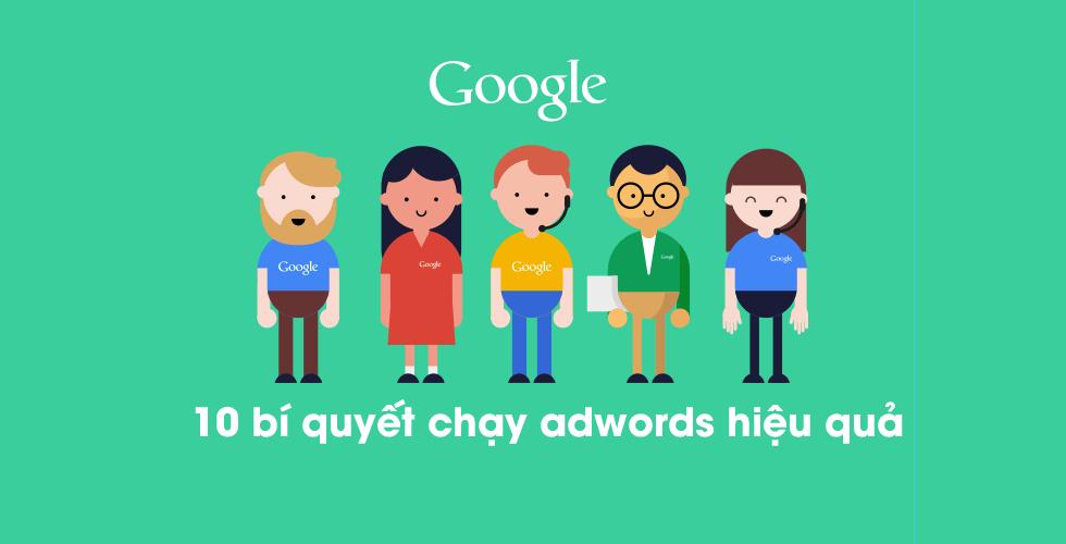bí quyết chạy google adwords hiệu quả