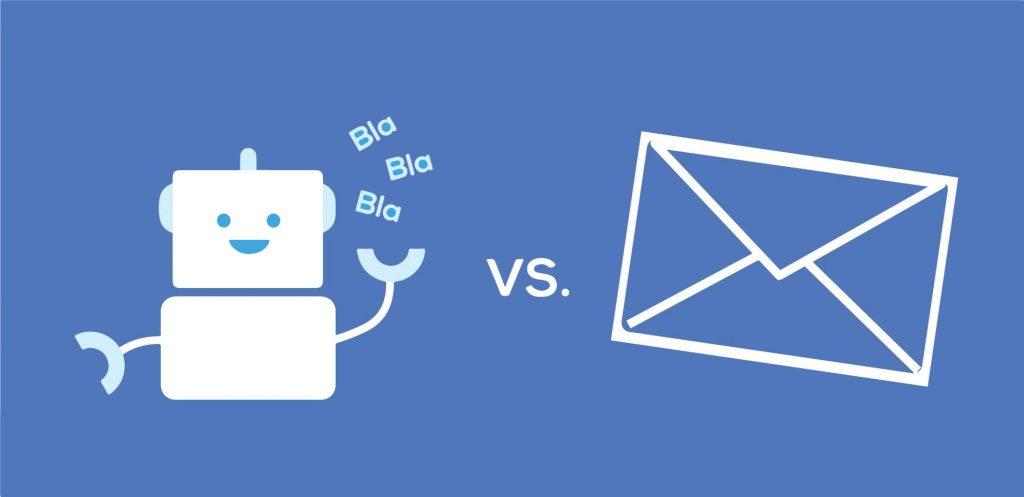 Chatbot liệu có đánh bại Email Marketing trong xu hướng 4.0?