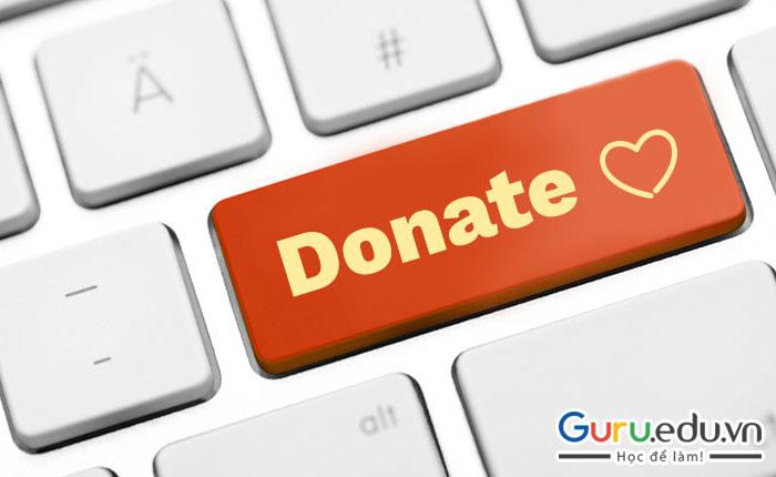 Donate là gì? Ý nghĩa của việc Donate đối với các Streamer